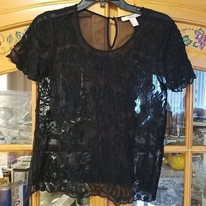 Forever 21 black top size small